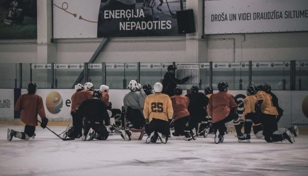 styrketräning för hockeyspelare _